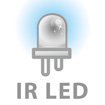 35-piece built-in IR LED (20M)